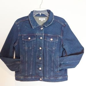 GOOD AMERICAN The Fitted Jacket Denim Size 2